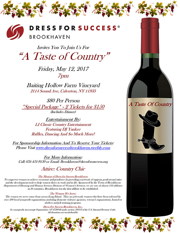 A Taste Of Country Flyer